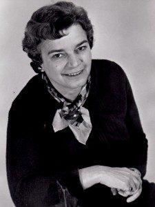 Ruth Schmidt in the 1950's. Photo courtesy of Sally Gibert.