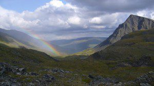 The pot of gold at the end of this rainbow is Wilderness in Gates of the Arctic. Photo courtesy of Lisa Oakley