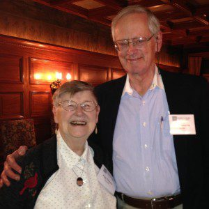 Founders Peg Tileston and Rod Cameron were honored in Seattle earlier this fall for their work establishing Trustees for Alaska.