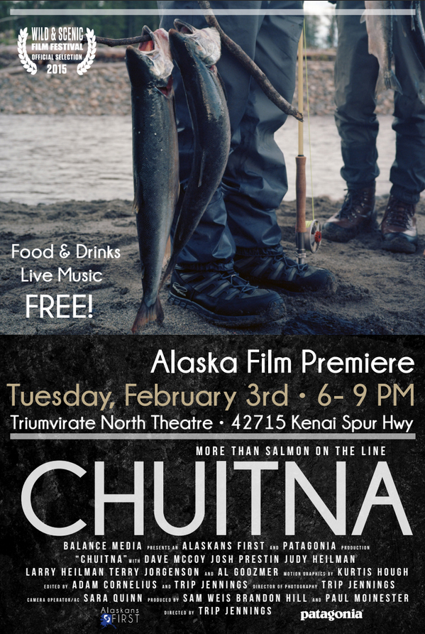 Chuitna: More Than Salmon on the Line Film Poster