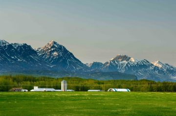 Farming and rural living are the heart of the Matanuska Valley.