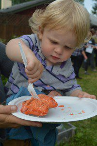 Everybody loves salmon! Photo courtesy of Alaskans First.