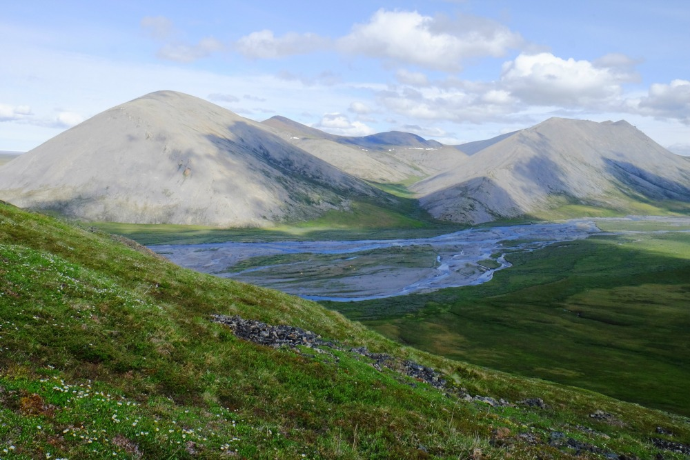 Aichilik River Valley in the Arctic National Wildlife Refuge. Photo courtesy of James Spitzer.