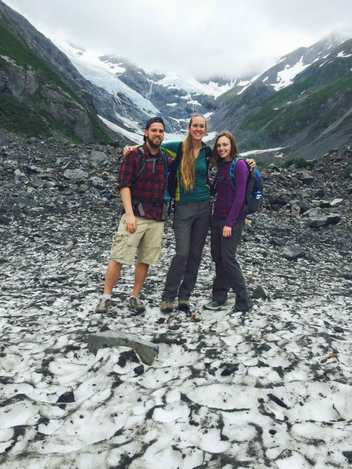 2015 interns Michael Harvey, Kat Fiedler, and Nicole Budine explored the Portage area on Intern Fun Day!
