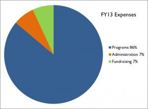 FY13 Expenses Chart
