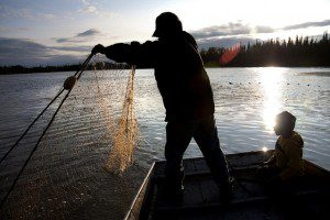 ANILCA provides access for traditional subsistence practices for Alaska Native people. NPS photo.