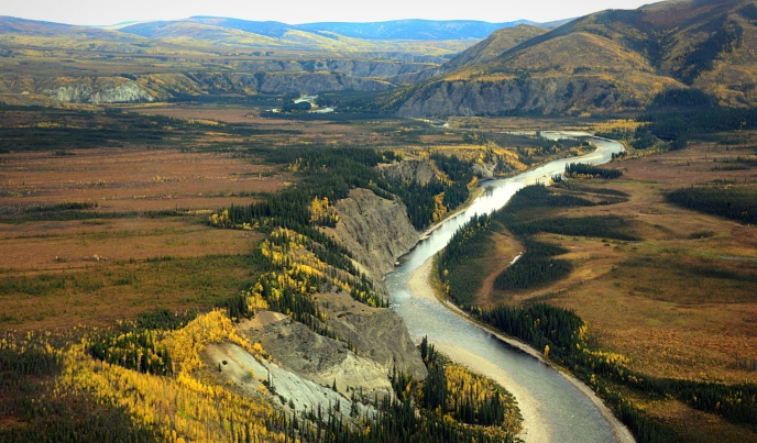 The Sturgeon hovercraft case began on the Charley River is a complete watershed protected within the Yukon-Charley Rivers National Preserve. It is virtually unaltered by modern human activities. NPS Photo by Josh Spice.