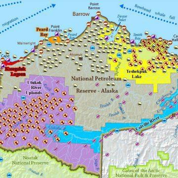 Western Arctic map