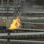 Prudhoe Bay's spiderweb of pipelines have impacts of animals and subsistence uses.