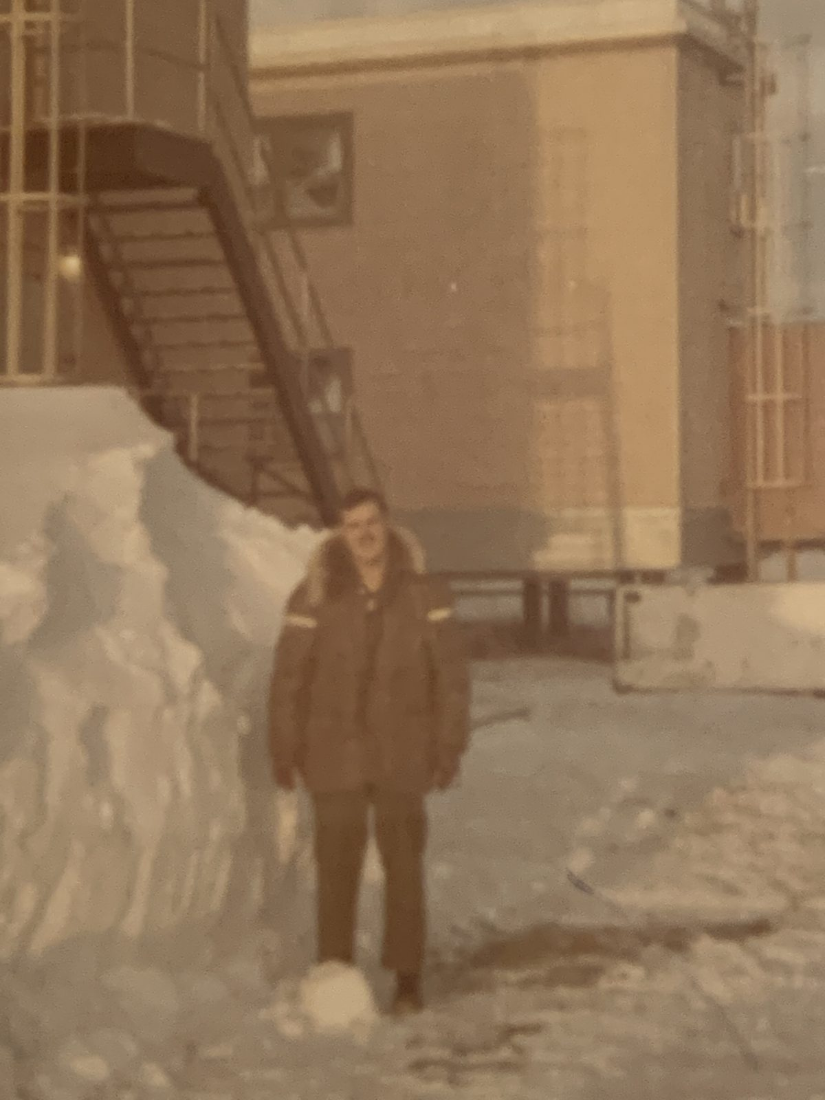 A photo of a giant snow pile inspires a lifetime of protecting Alaska.