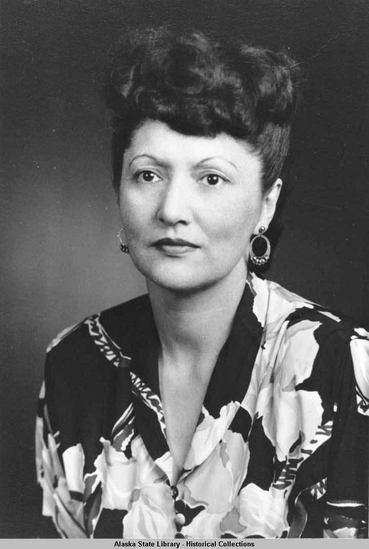 Honoring Elizabeth Peratrovich.