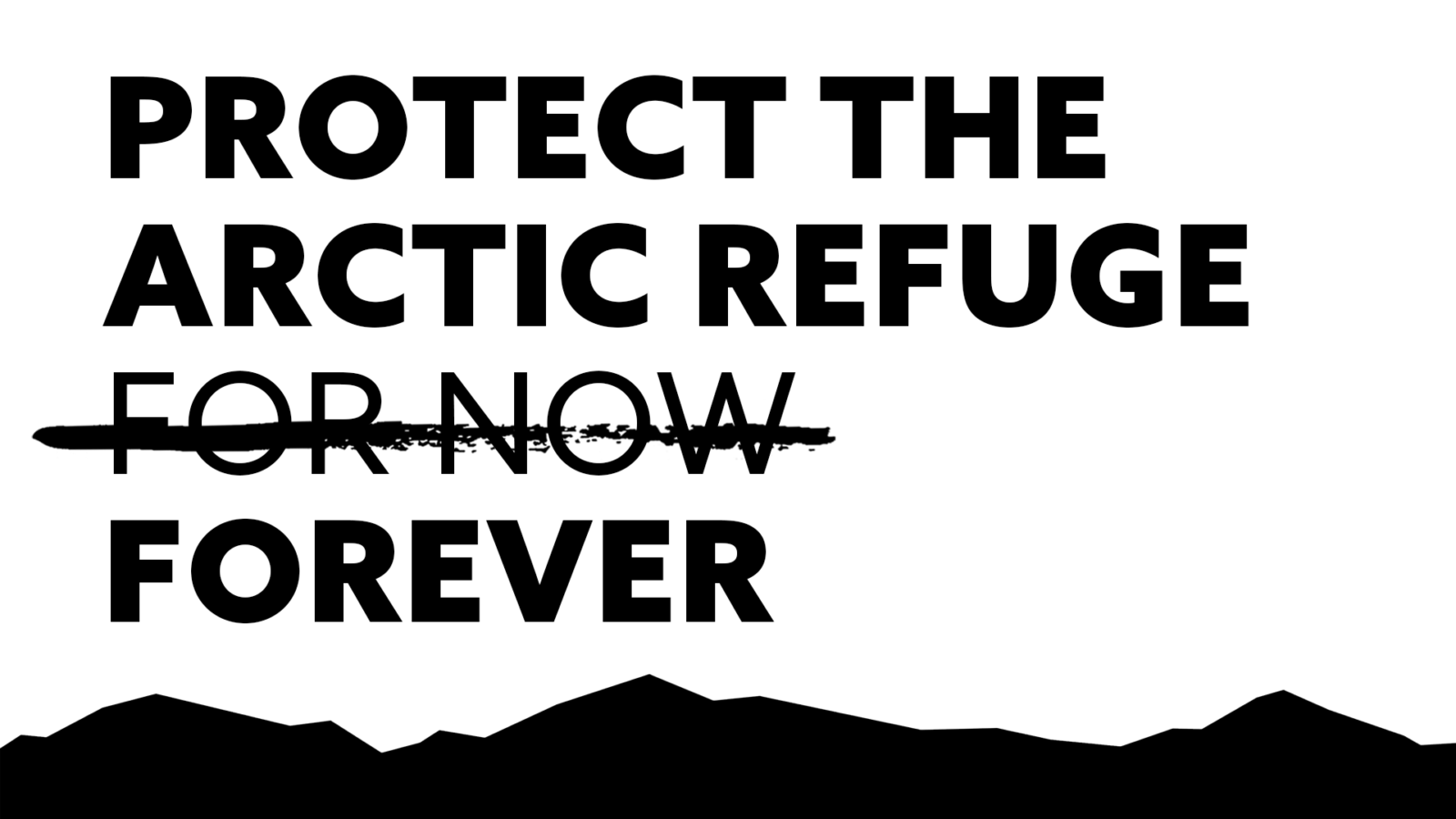 Protecting the Arctic Refuge for now is not enough. Join the digital day of action to protect sacred lands in the Arctic Refuge forever.